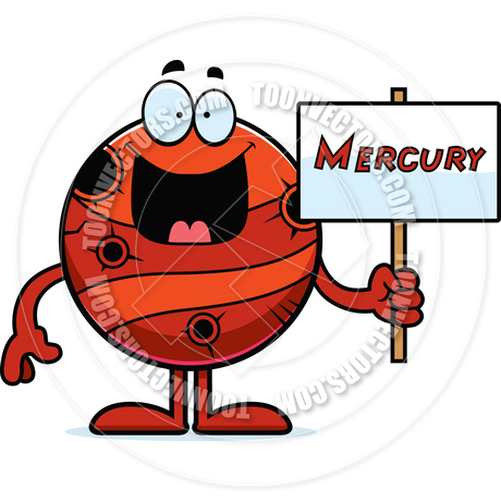 460x460 Cartoon Mercury Sign By Cory Thoman Toon Vectors Eps