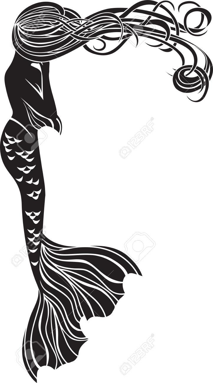 723x1300 Top 92 Mermaid Clip Art