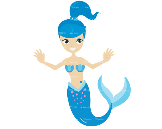 570x453 Top 90 Mermaids Clip Art