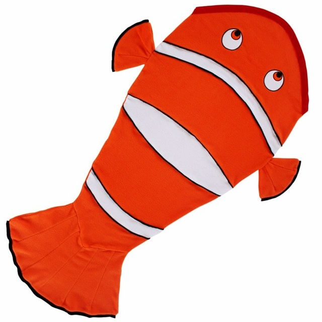 640x640 2017 New Arrival Kids Sleeping Bag Mermaid Tail Blanket Nemo