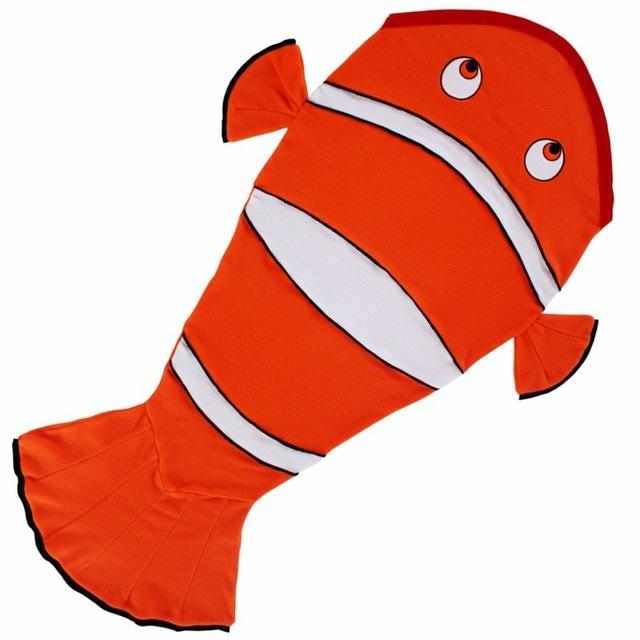 640x640 2017 New Arrival Kids Sleeping Bag Mermaid Tail Blanket Nemo