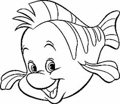 236x205 Coloring Pages Little Mermaid