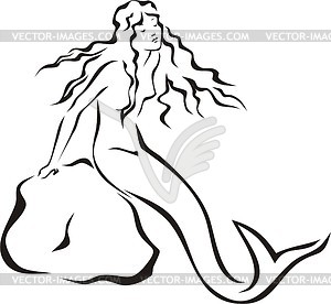 300x276 Drawing Clipart Mermaid