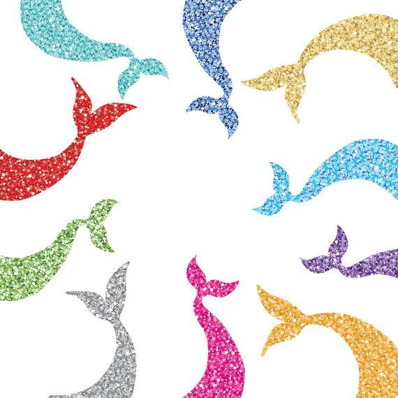 570x570 Glitter Clipart Mermaid