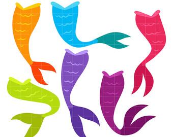 340x270 Mermaid Tail Clipart Etsy