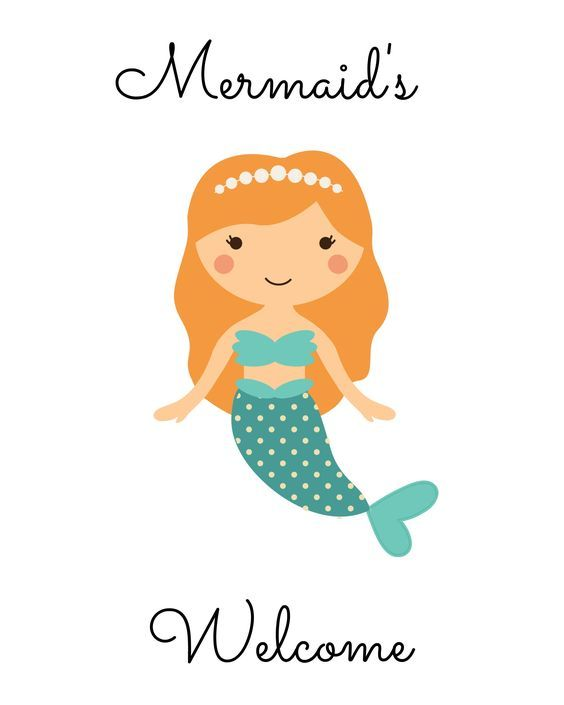 564x705 Free Mermaid Sign Archives Mandy's Party Printables