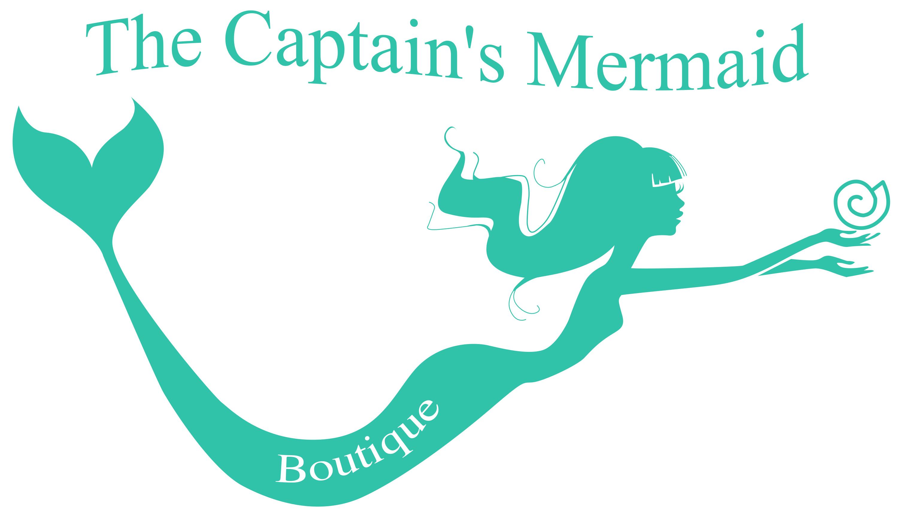 3029x1725 Captains Mermaid No Text Logo White Outline