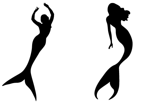 Mermaid Outline Free Download Best Mermaid Outline On Clipartmagcom