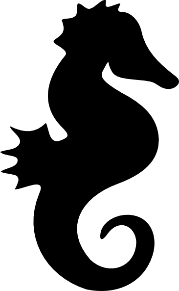 366x593 Whale Silhouette Clip Art Sea Horse Silhouette Clip Art