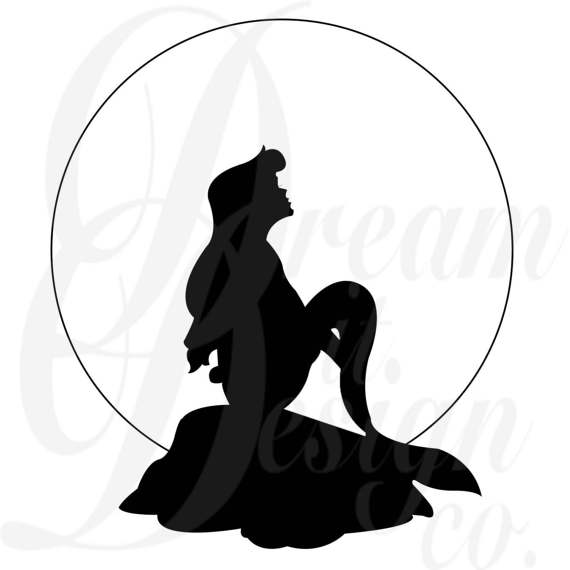 570x570 Disney Little Mermaid Part Of Your World Design For Silhouette