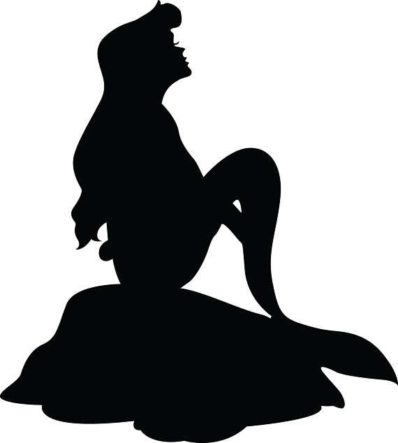 570x634 Ariel Svg Little Mermaid Clipart Little Mermaidmermaid