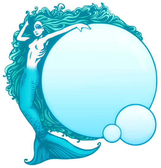 526x550 Free Mermaid Clip Art