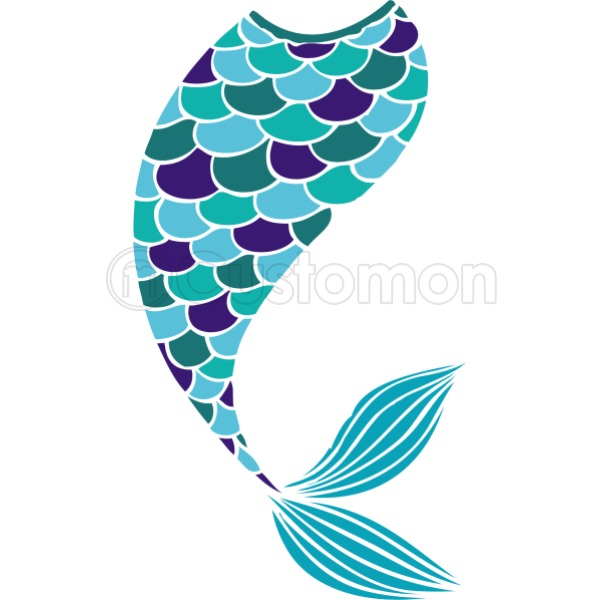600x600 Mermaid Tail Men's T Shirt