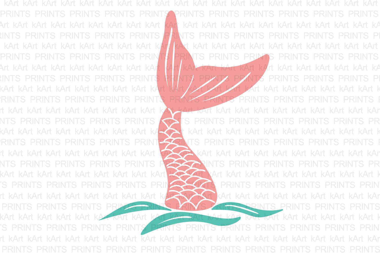 1500x1000 Mermaid Tail Svg, Hand Drown Mermaid Ta Design Bundles