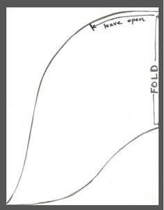 Mermaid Tail Outline
