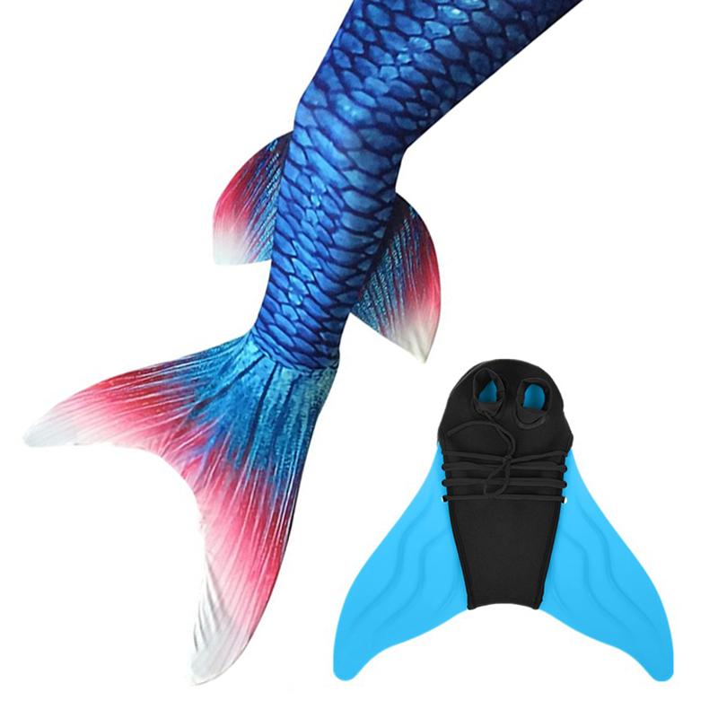 800x800 Mermaid Tail Deluxe + Monofin Pro