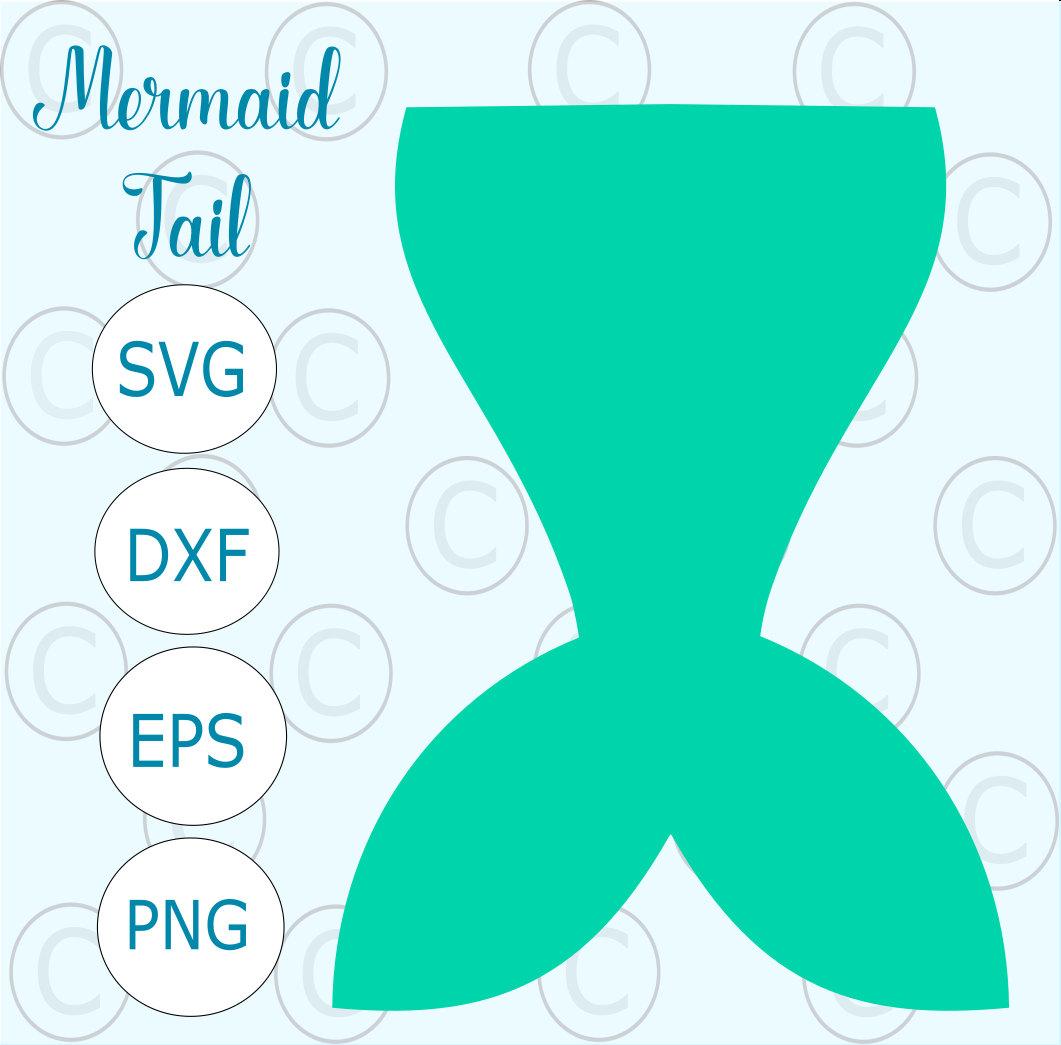 1061x1045 Mermaid Tail Svg Cut File Simple Mermaid Tail Silhouette Cut