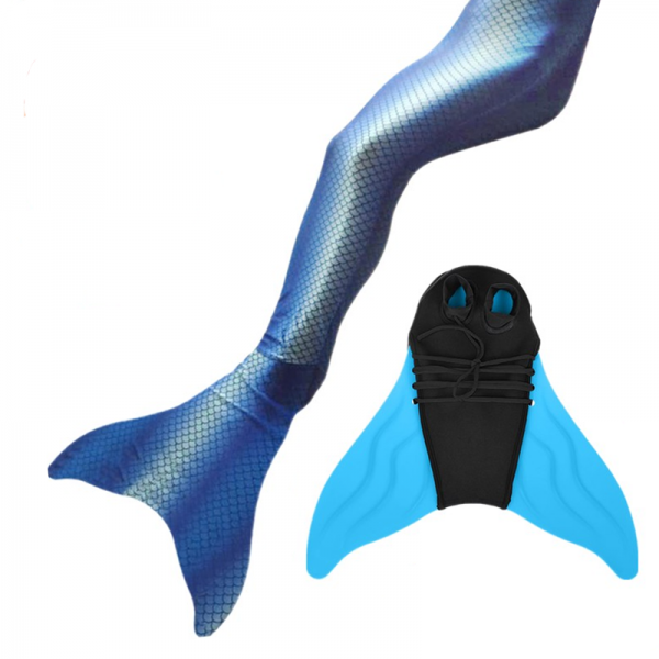 600x600 Mermaid Tail Watershine + Monofin Pro