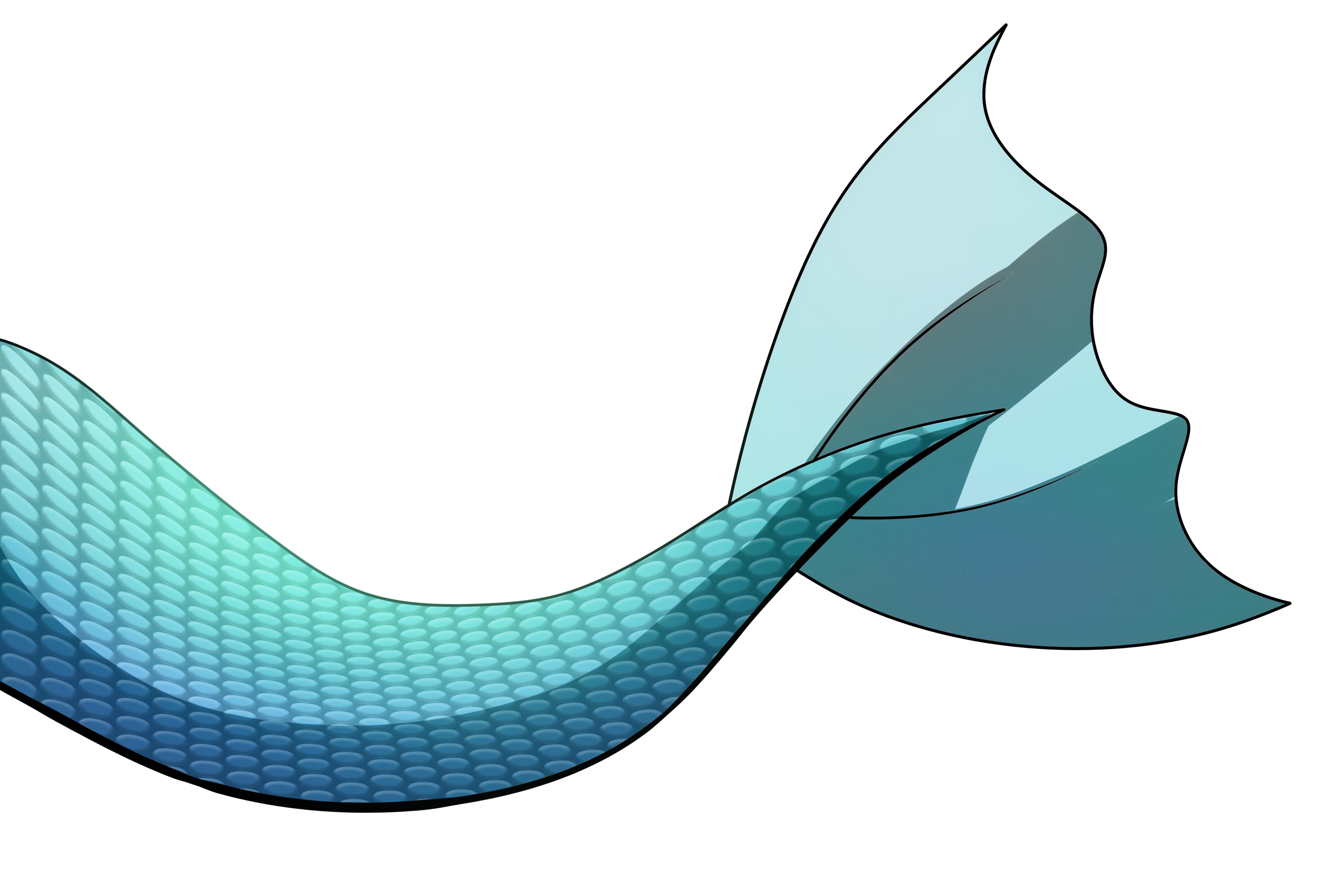 4600x3099 Mermaid Tails Digital Art