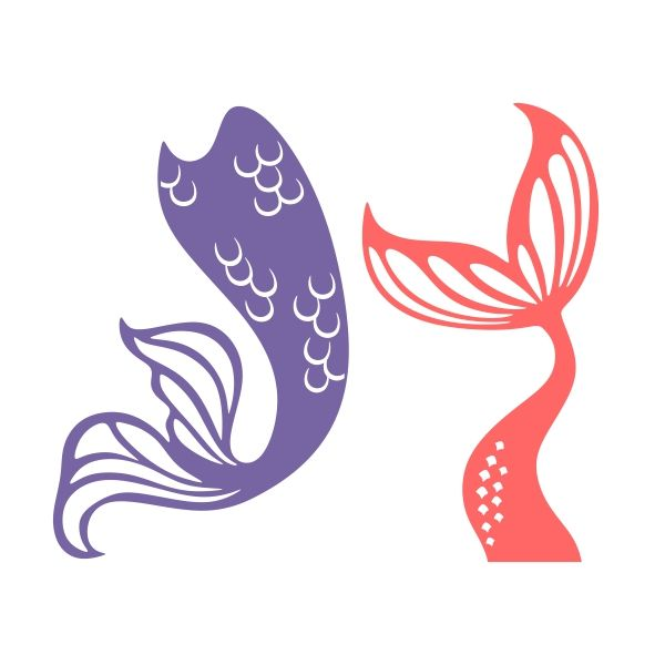 600x600 Captivating Mermaid Tail Clipart Clip Artdigital Instant Download