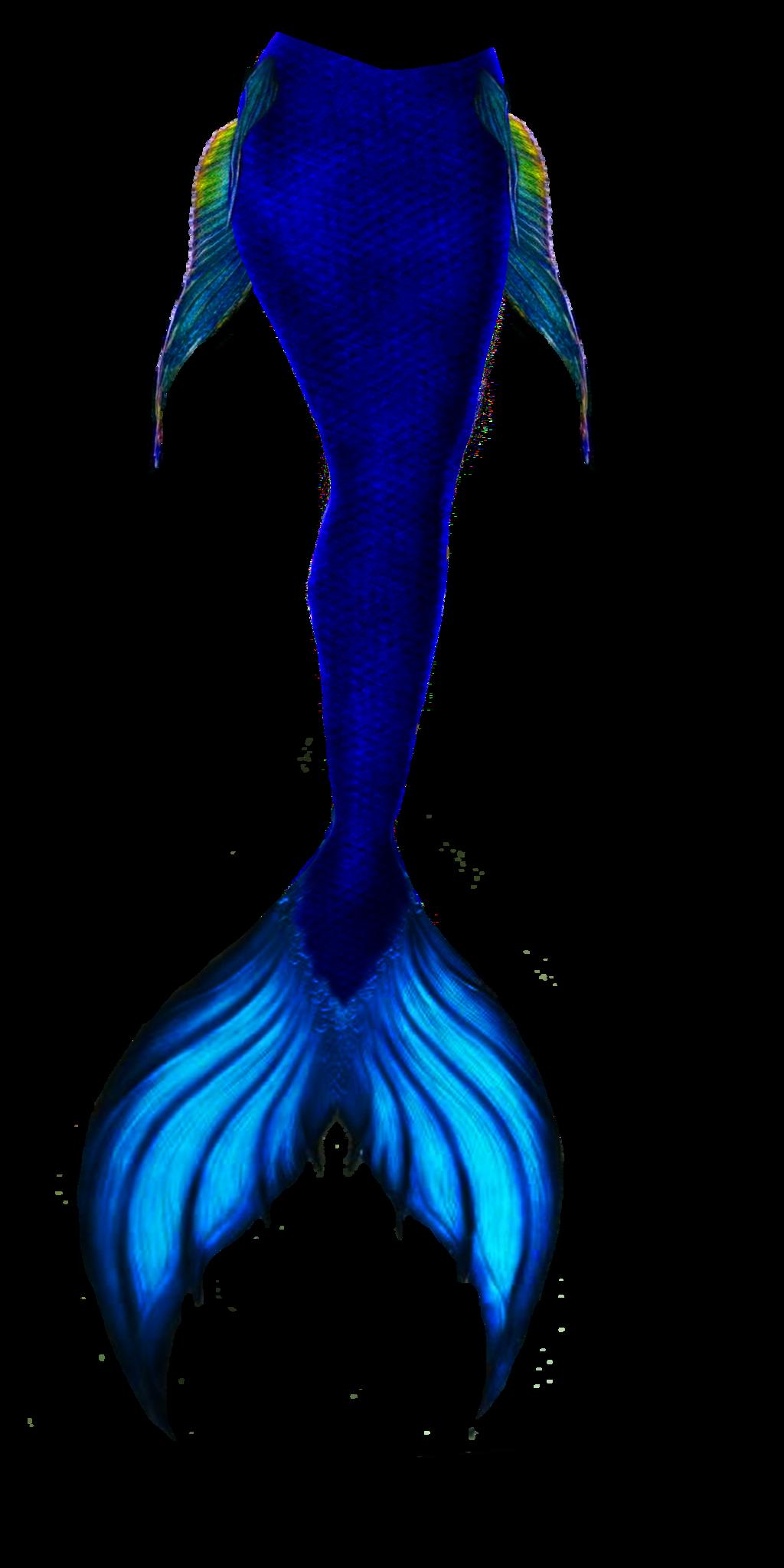 1024x2048 Blue Mermaid Tail By Goth666moran