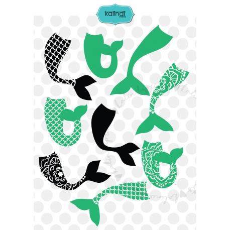 458x458 Mermaid Svg, Mermaid Cut File, Beach Svg, Mermaid Silhouette