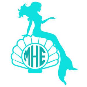300x300 Anchor Clipart Mermaid Silhouette