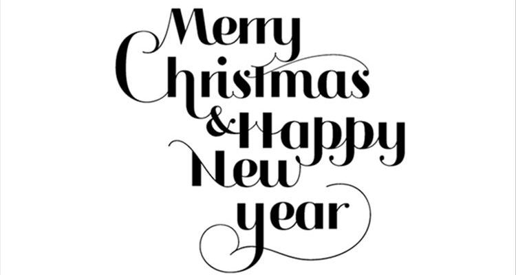 750x400 Clip Art Merry Christmas Happy New Year Merry Christmas Amp Happy