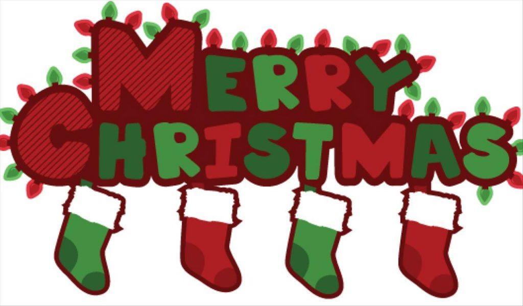 1024x600 Fancy Animated Merry Christmas Clip Art Words