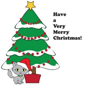 300x300 Free Christmas Clip Art Image