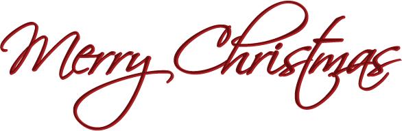 586x192 Merry Christmas Free Clip Art