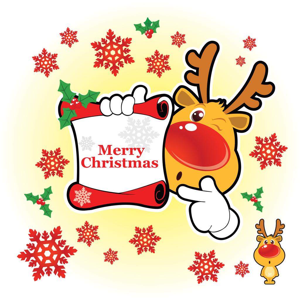 1024x1024 Merry Christmas Vector Art Packs