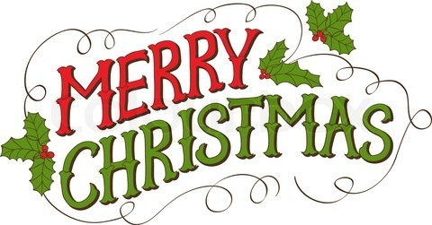 480x251 Merry Christmas Clipart Vintage