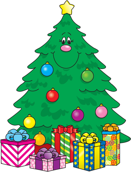525x688 Free Merry Christmas Clipart