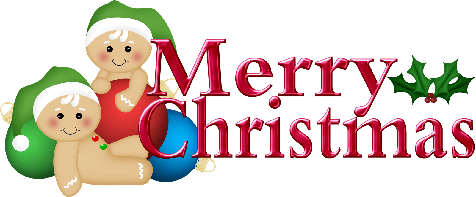 1600x664 Merry Christmas Clipart Traditional Christmas
