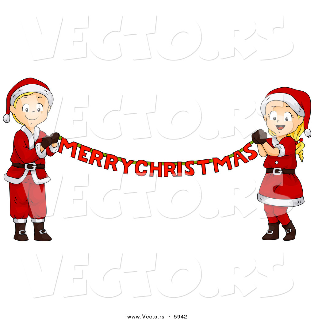 1024x1044 Christmas Banner Clipart