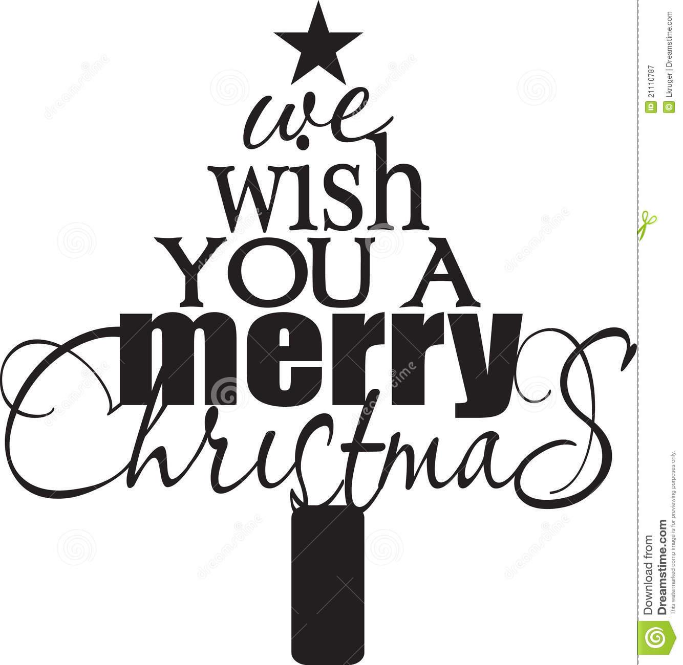 1334x1300 Merry Christmas Black White Clipart