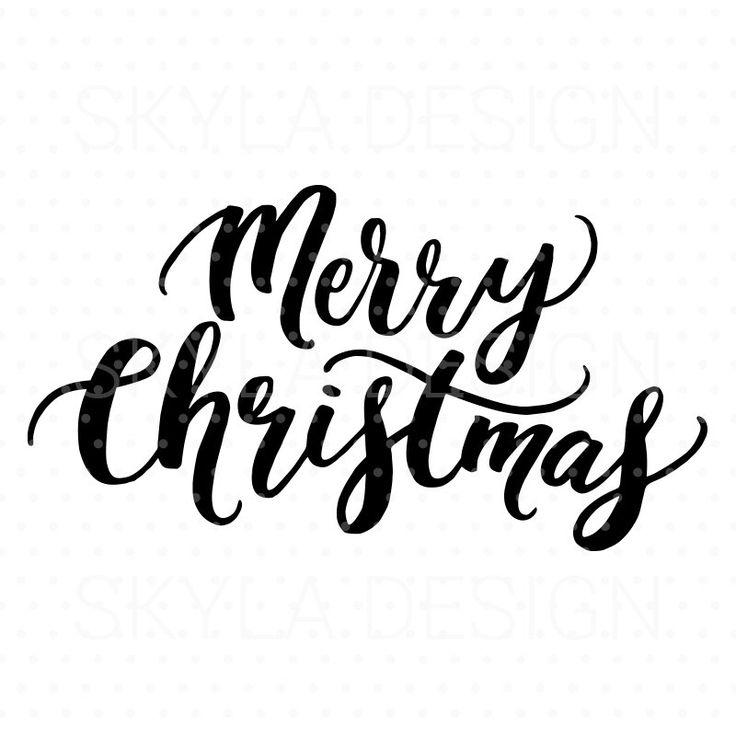 736x736 Merry Christmas Clipart Printable