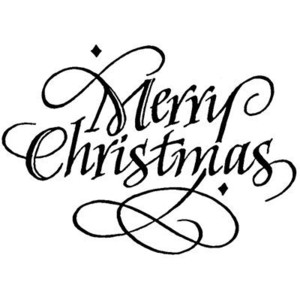 300x300 Black And White Merry Christmas Clip Art Merry Christmas Amp Happy