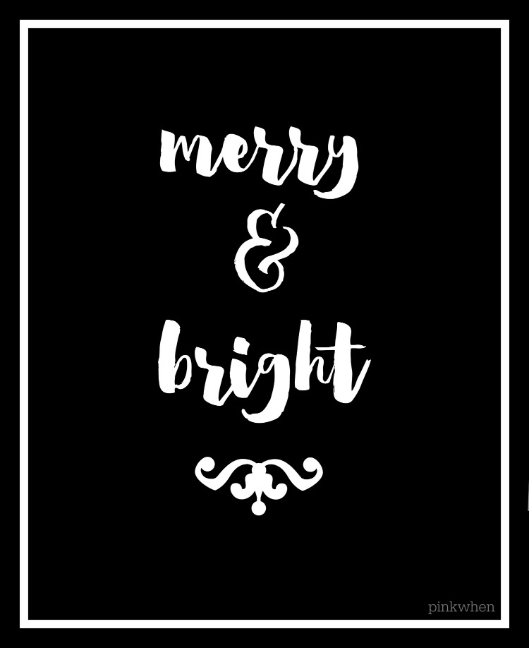 750x918 Black And White Merry Christmas Printable Merry Christmas
