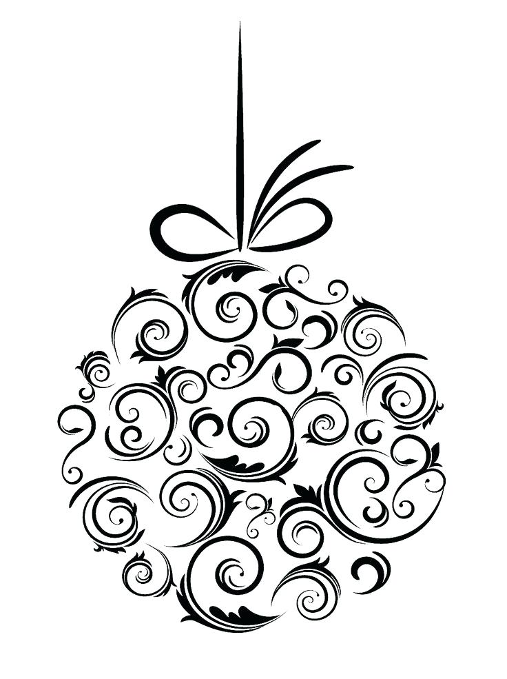 736x985 Clipart Christmas Lights Clip Art Black And White Light Clip Art