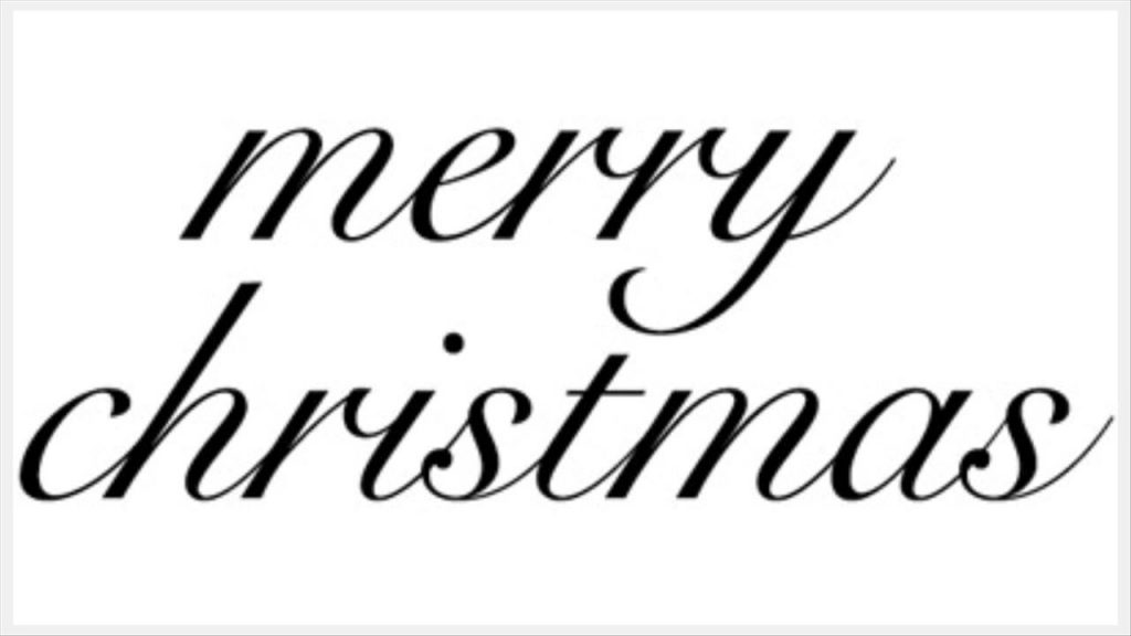1024x576 Fancy Merry Christmas Clip Art Words Black And White