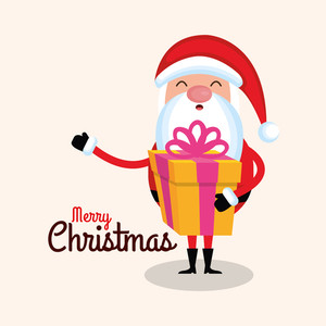 300x300 Cartoon Santa Claus