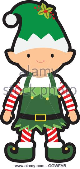 257x540 Elf Cartoon Icon Merry Christmas Stock Photos Amp Elf Cartoon Icon