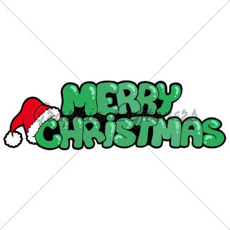 325x325 Merry Christmas Ribbon Sign Gl Stock Images