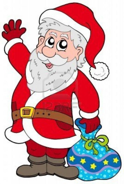 482x717 Animated Santa Claus Clipart Free Download Merry Christmas
