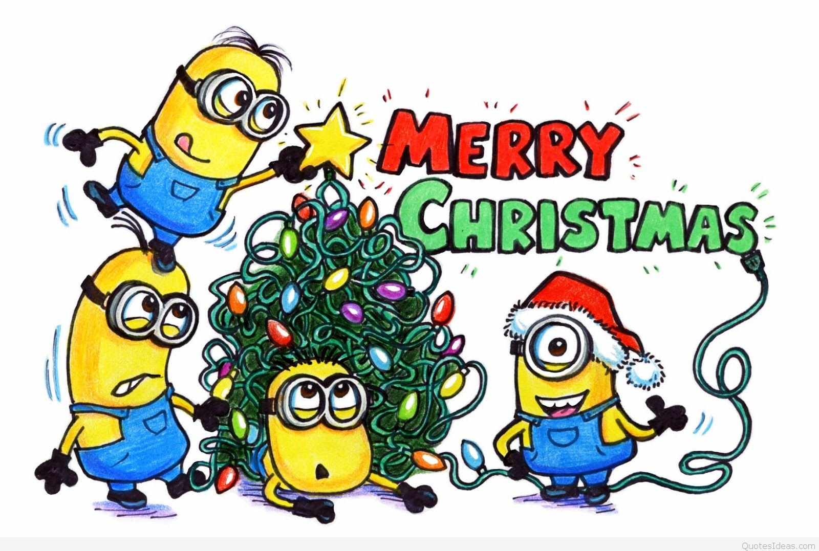 1600x1077 Merry christmas minions clipart collection