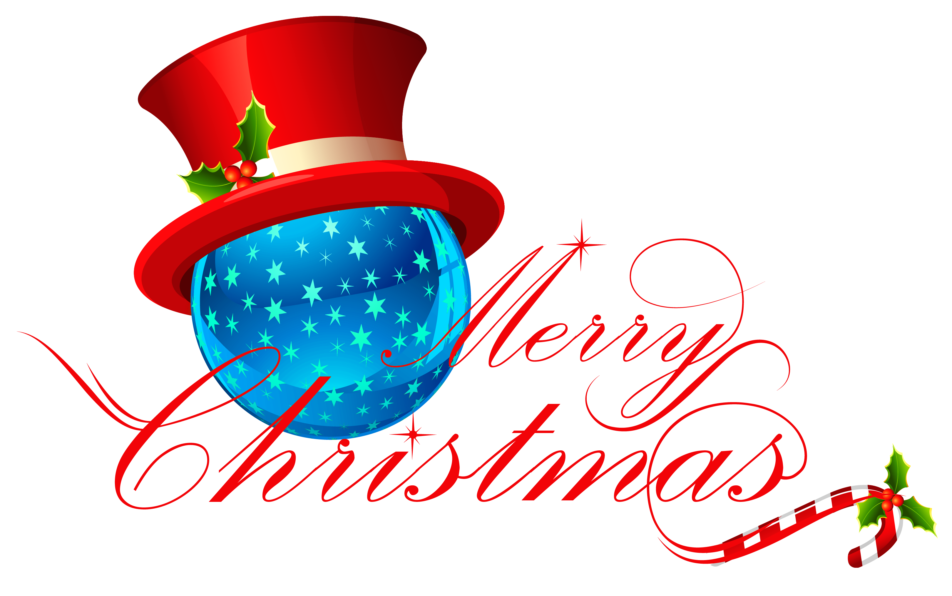 3239x2026 Transparent Merry Christmas with Blue Ornament Clipartu200b Gallery