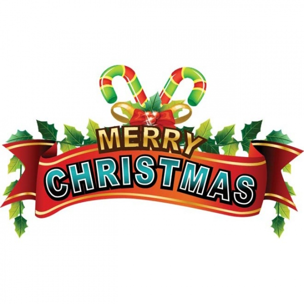 600x600 merry christmas clip art
