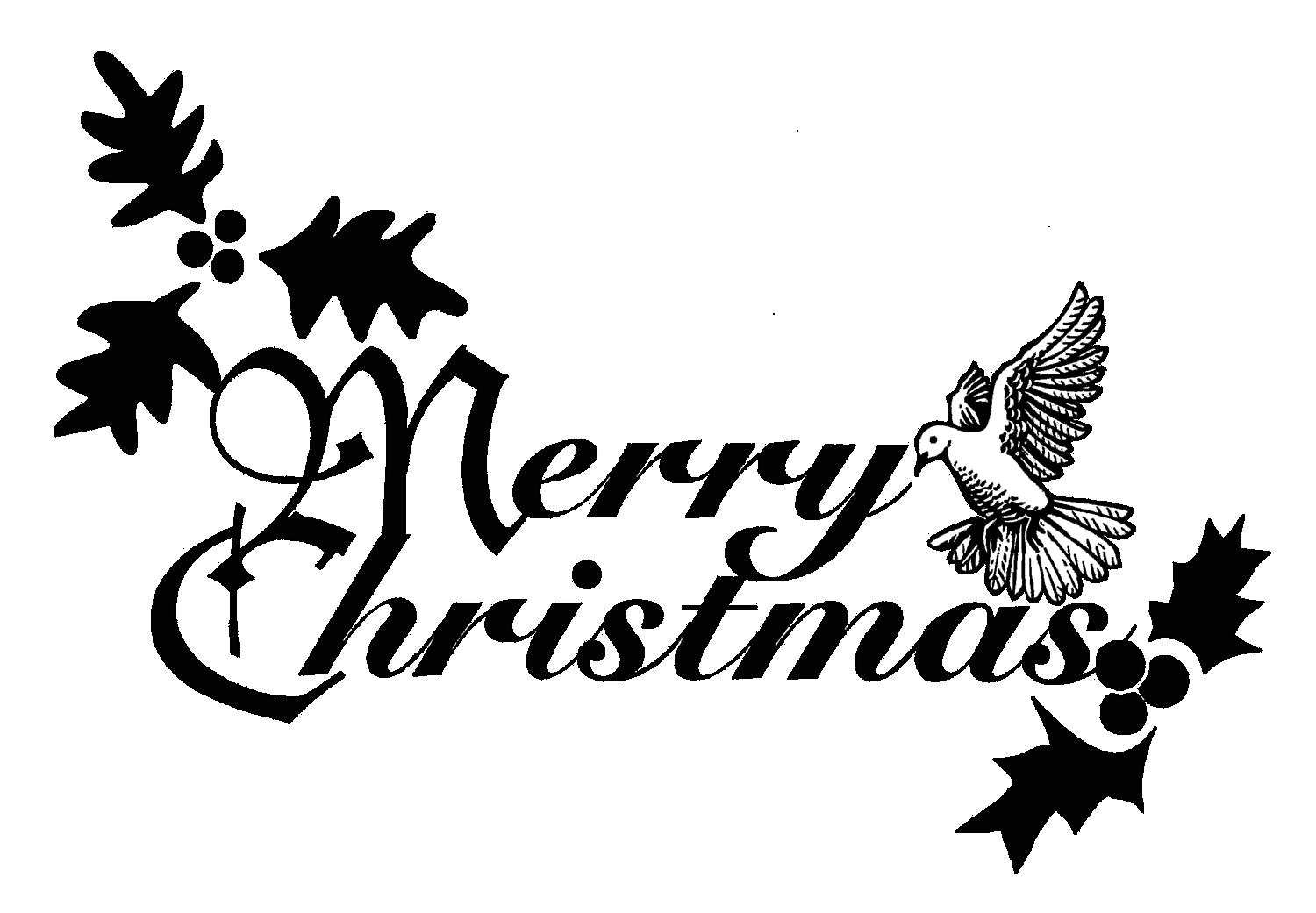 1500x1041 Religious Merry Christmas Clip Art Words. Merry Christmas Words